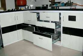 used kitchen furniture. Modular Kitchen Material Furniture Materials Used In India