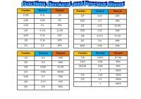 Big Fraction Chart Big Fraction Chart Fraction Charts