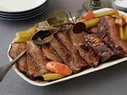 slow cooker pot roast recipe food