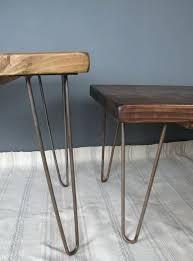 hairpin coffee table legs latest hairpin leg coffee table reclaimed scaffold board hairpin leg coffee table
