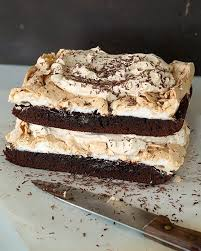 Worlds Best Brownie Mocha Layer Cake Sweet Paul Magazine