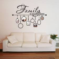 sweet idea wall vinyl art designing home family picture frame deco on free decals