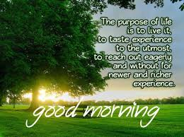 Good Morning Inspired Quotes