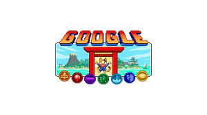 Olympic Doodle Champion Island Games