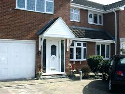 cottage door canopy image of picture front curved glass ideas porch doors outstanding for great looking