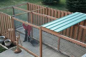 outdoor dog kennels ideas fence options for kennel design roof