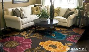 eye for design decorating with bold fl rugs area ideas 12