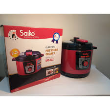 Áp suất điện Saiko EPC-522 - Hàng chính hãng, Dung tích 6L, Bảo hành 18  tháng - Nồi áp suất