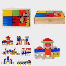 Đồ chơi xếp hình khối lâu đài gỗ winwintoys | Đồ chơi lâu đài cho bé chính  hãng