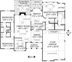 10 bedroom house plans. Southern Floor Plan - Main #56-149 10 Bedroom House Plans