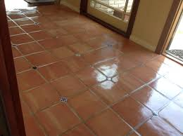 beautiful saltillos with dots sealed saltillo tiles in los altos ca