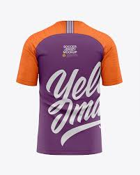 Are you looking soccer uniform mockup to showcase your artwork? Men S Soccer Raglan Jersey Mockup Back View Football Jersey T Shirt In Apparel Mockups On Yellow Images Object Mockups Clothing Mockup Design Mockup Free Shirt Mockup