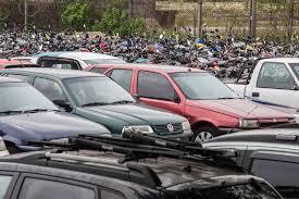 Resultado de imagem para fotos de Divulgado edital de leilão para venda de 904 veículos