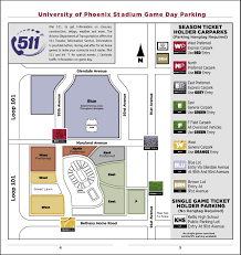 Parking And Directions Az Cardinals Tickets