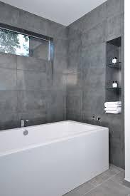 big grey bathroom tiles tile window sill shower36 sill