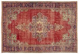vintage rug natural 196x285 cm