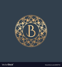 Luxury B B Lake District Grand Designs Letters B Luxury Logo Template