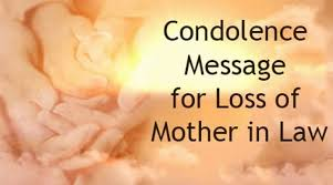 Loss Of Mother Quotes Custom Condolence Message For Loss Of Mother In Law
