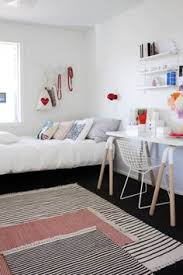 Simple bedroom for women Small Rug Layering u003d Simple Coziness Comfort And Softness To The Bare Minimalist Room Pinterest 67 Best Bedroom Ideas For Young Women Images Teen Bedroom Dream