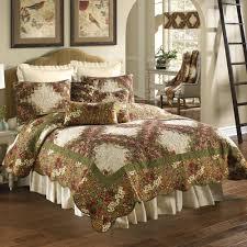 watercolor irish chain fl quilt bedding by donna sharp