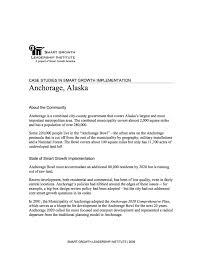 case studies in smart growth implementation anchorage alaska  case studies in smart growth implementation anchorage alaska smart growth america