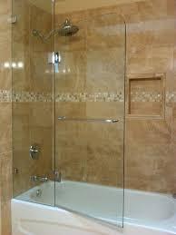 appealing tub shower doors frameless aqua tub door frosted glass bathtub door tub in half glass