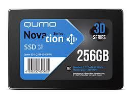 <b>Твердотельный накопитель Qumo</b> Novation TLC 3D SSD 256Gb ...