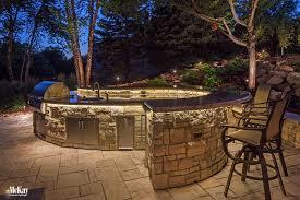 outdoor kitchen lighting omaha ne mckay landscape lighting m