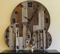 large rustic wood wall clocks oversized rustic wall clocks home interior gohemiantravellers