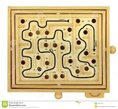 Wooden Maze Games Wooden Maze Game stock image Image of course game dexterity 53