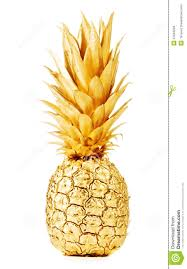 gold pineapple clipart. royalty-free stock photo. download gold pineapple clipart