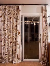 curtains patio door curtain ideas couple