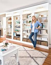 library wall you will need four billy bookcases good hardware and quality wood diy bookcase ideas