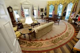 oval office white house. Back In Action: The Oval Office Was Open For Business Once More. All Of White House K