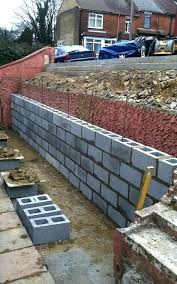 how to build a brick garden wall brickwork garden walls building retaining wall garden bed build