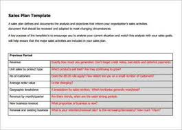 sales calling plan template 11 hotel sales plan examples pdf examples