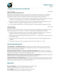 Attractive Inspiration Writing Resumes 4 Resume Writing Examples