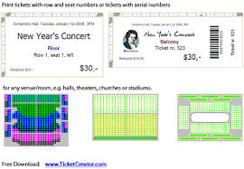 free ticket creator ticketcreator download
