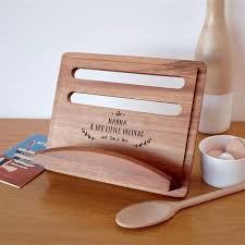 60th birthday gift ideas recipe cook book stand
