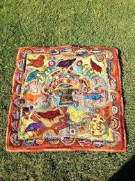 primitive hooked rug hooking hand by rugs and patterns wool cleaning