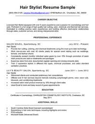 Hairstylist Cover Letter Sample 4 Writing Tips Resume Companion