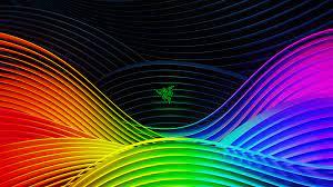 Rainbow Razer Wallpaper 1920x1080