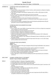 Configuration Management Resume Samples Velvet Jobs