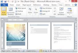 Microsoft Word Template Report Free Annual Report Template For Word With Cover Photo