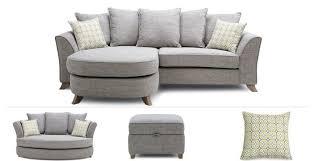 fenton clearance 4 seater lounger sofa