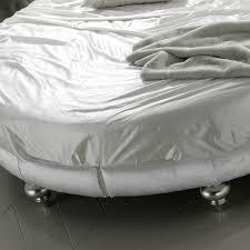 designer italian high end luxury round bed