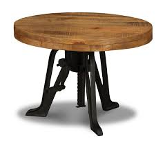 iron industrial furniture. Iron Industrial Table Crank Dining Room Furniture