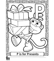 P Presents Cadeautjes Kleurplaat Jouwkleurplaten