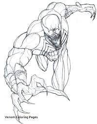 Printable Venom Coloring Pages Of Venom Coloring Pages #208 Free ...