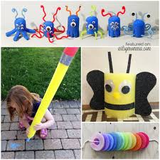 pool noodle crafts for kids boredom buster